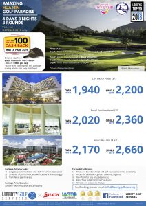 MATTA FAIR 433 OCT only Hua Hin Golf Paradise
