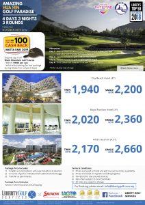 MATTA FAIR 433 OCT only Hua Hin Golf Paradise