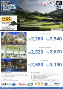 MATTA FAIR 433 nov - dec 2019 Hua Hin Golf Paradise